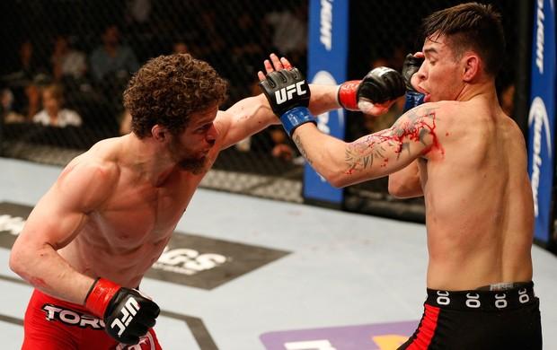 Dustin Ortiz x Ray Borg UFC MMA (Foto: Getty Images)