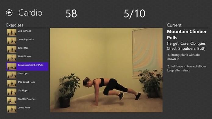 Daily Cardio Workout ajuda a melhorar o condicionamento físico e enxugar as gordurinhas (Foto: Divulgação)