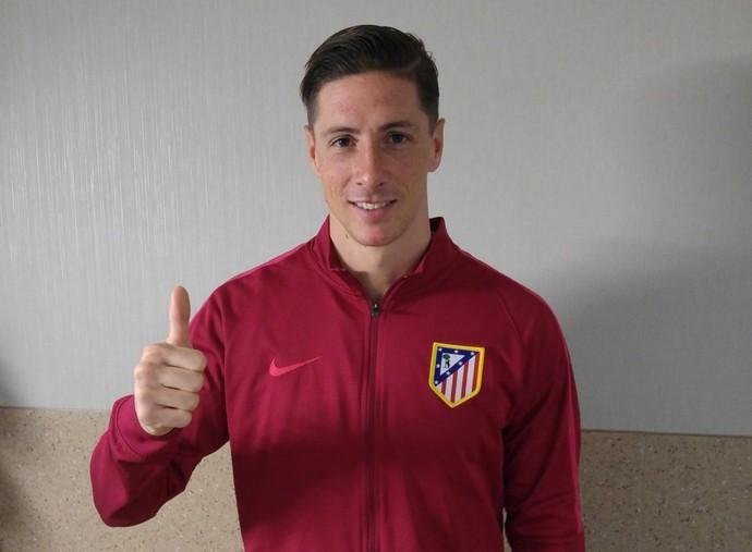 Fernando Torres Atlético de Madrid (Foto: Divulgação/Site oficial do Atlético de Madrid)