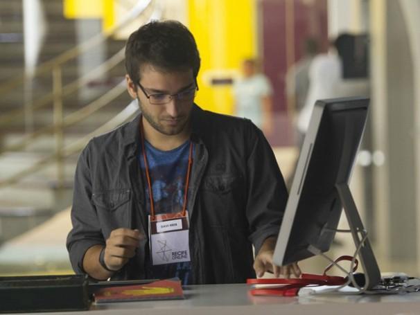 Antes de criar seu próprio negócio, Davi trabalhou em uma ONG de inclusão digital (Foto: João Cotta/TV Globo)