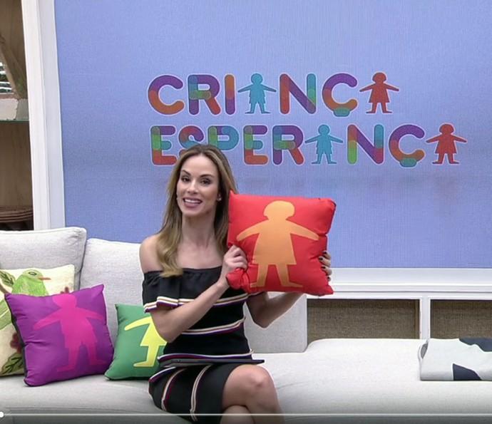 Ana Furtado fala da campanha do Criança Esperança (Foto: TV Globo)