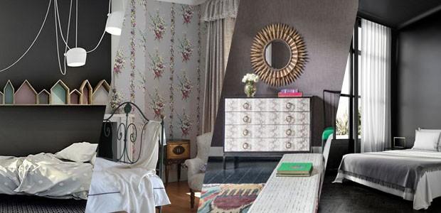 Tons de cinza em 15 quartos elegantes (Foto: Divulgação)