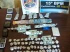 Grupo suspeito de associação para o tráfico é preso em Cachoeirinha, PE
