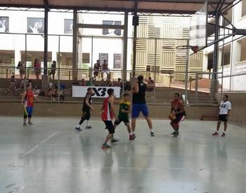 Torneio de Basquete 3x3 no CEBRB (Foto: Manielden Távora/Arquivo pessoal)