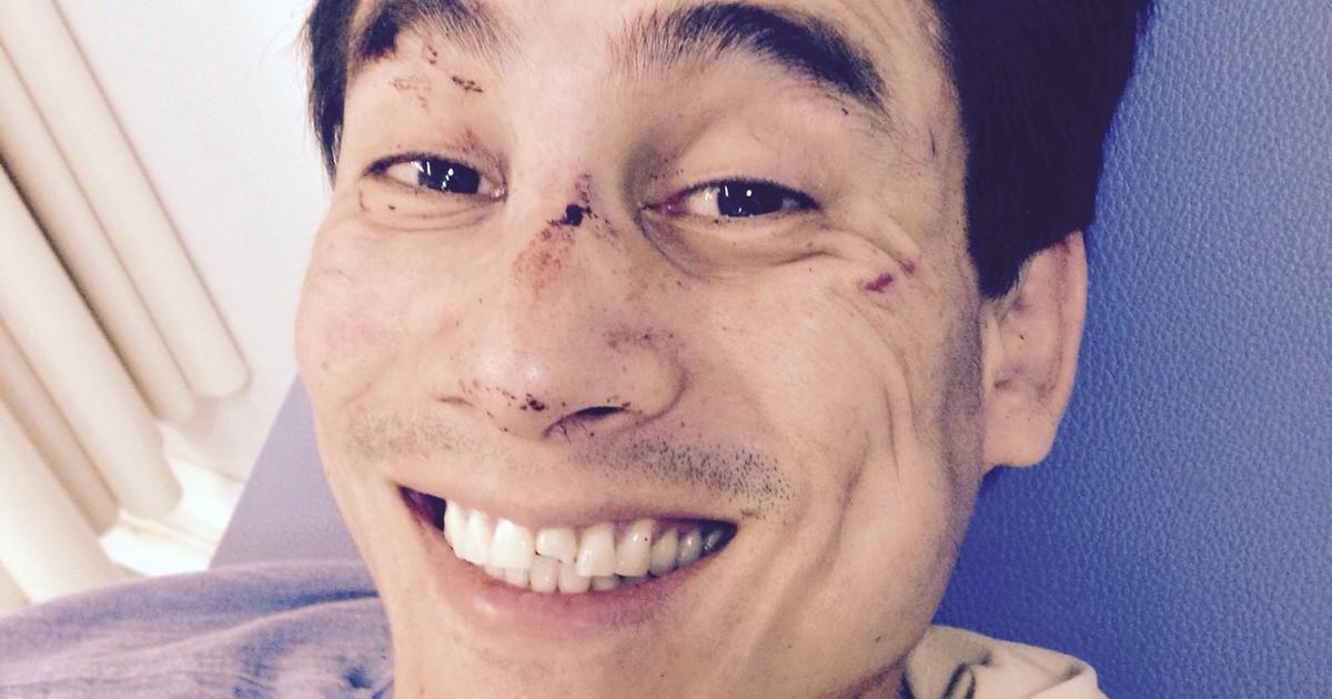 Jovem que foi agredido por mais de dez em Itaperuna, RJ, sai do ... - Globo.com