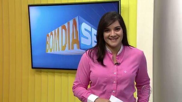 Lanne Pacheco apresenta o Bom Dia Sergipe desta segunda, 22 (Foto: Divulgação / TV Sergipe)