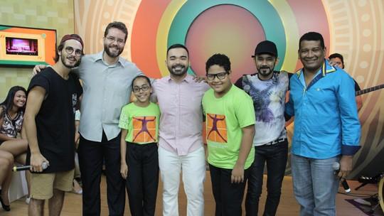 Crianças do Coral Infantil do Liceu Cláudio Santoro mostram talentos no 'Paneiro'
