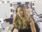 Veja fotos de Grazi Massafera nos bastidores de campanha de beleza