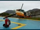 Helicóptero da PRF faz pouso forçado no Palácio Guanabara, no Rio