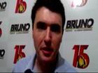'A população confirmou o desejo de mudança', diz Bruno em Juiz de Fora