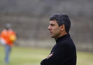 Marcos Soares técnico Brasiliense (Foto: Claudio Reis / Divulgação)