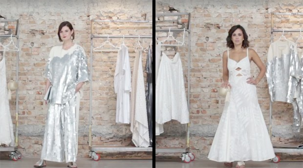Larissa Lucchese e Camila Lima escolhem looks para o Réveillon (Foto: Reprodução)