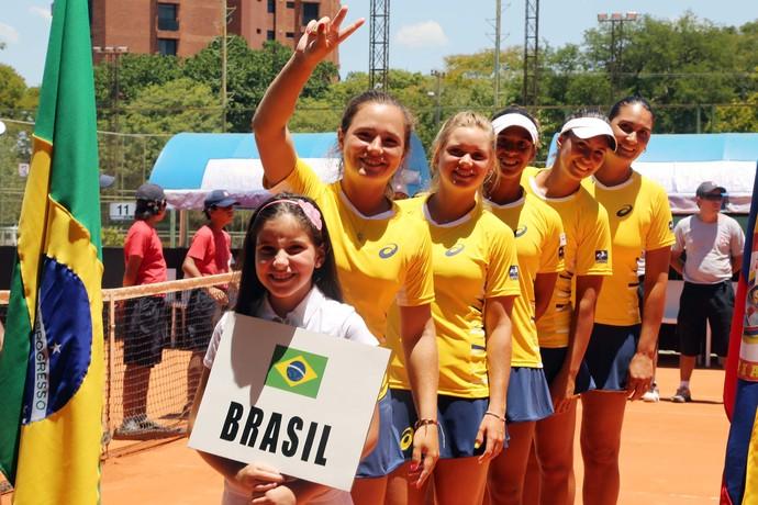 tenis brasil fed cup (Foto: Cristiano Andujar)
