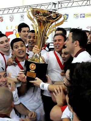 campeão orlândia concórdia liga futsal (Foto: Luciano Bergamaschi / CBFS)
