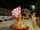 Desfile das escolas de samba de Cubatão é acompanhado por 10 mil