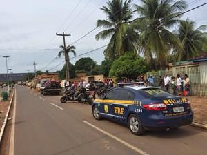 Operação Gurgueia II percorreu quatro municípios do Piauí (Foto: PRF)