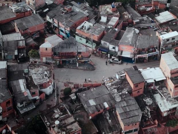 Paraisópolis teve uma grande expansão durante a ditadura militar  (Foto: Guilherme Aquino/BBC)