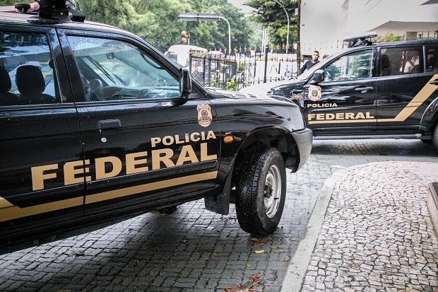 A Construtora Norberto Odebrecht (CNO) sob operação da Polícia Federal em seu escritório no Rio de Janeiro (Foto: André Horta / Fotoarena / Ag. O Globo)
