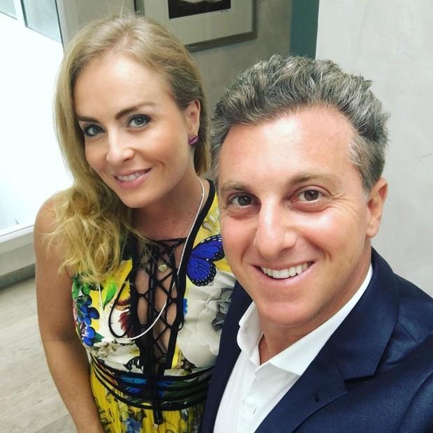 Angelica e Luciano Huck (Foto: Reprodução/Instagram)