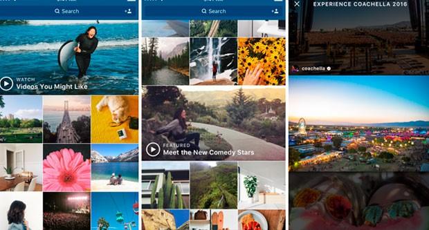 Instagram adicionará canais de vídeo na seção 'explorar' (Foto: Divulgação)