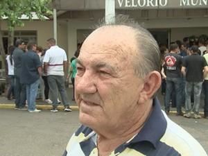 Aposentado José Hércueles diz que as duas eram pessoas muito estimadas em Itajobi (Foto: Reprodução/TV TEM)