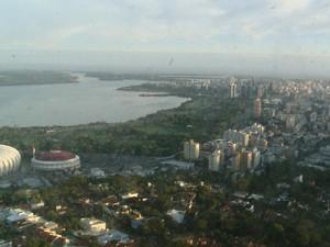 Temperatura cai e pode chover no Oeste e Norte do RS (Foto: RBS TV/ Reprodução)