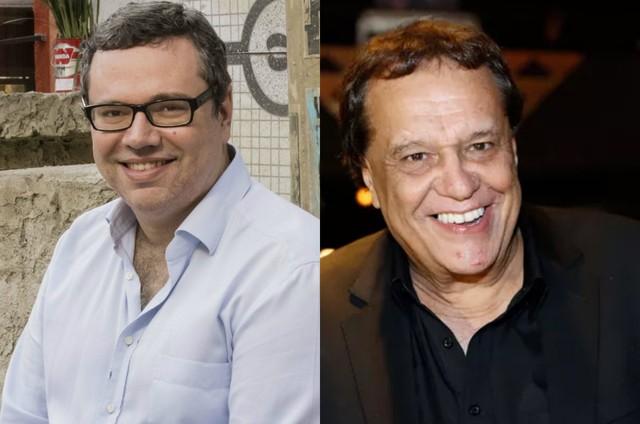 João Emanuel Carneiro e Dennis Carvalho (Foto: Tata Barreto/TV Globo e Ellen Soares/Gshow)