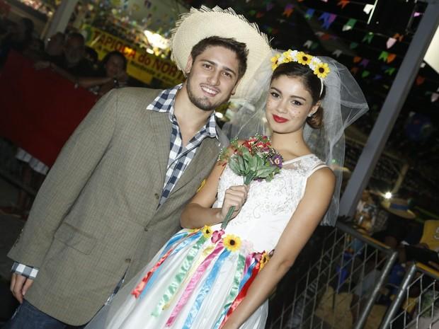 Sophie Charlotte e Daniel Rocha (Foto:  Roberto Filho/AgNews)