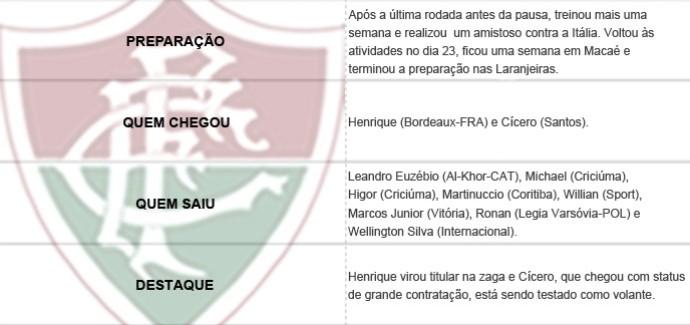 Pacotão dos Clubes - Fluminense (Foto: Editoria de Arte)