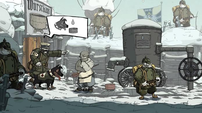 Com uma excelente história, Valiant Hearts: The Great War também tem uma instigante jogabilidade (Foto: Divulgação/Ubisoft)