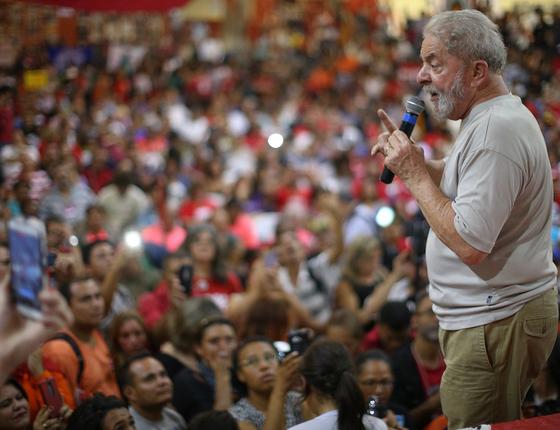 O ex-presidente Luiz Inácio Lula da Silva  (Foto: Felipe Araujo)