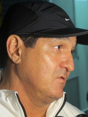 Muricy Ramalho técnico do Santos (Foto: Marcelo Hazan / globoesporte.com)