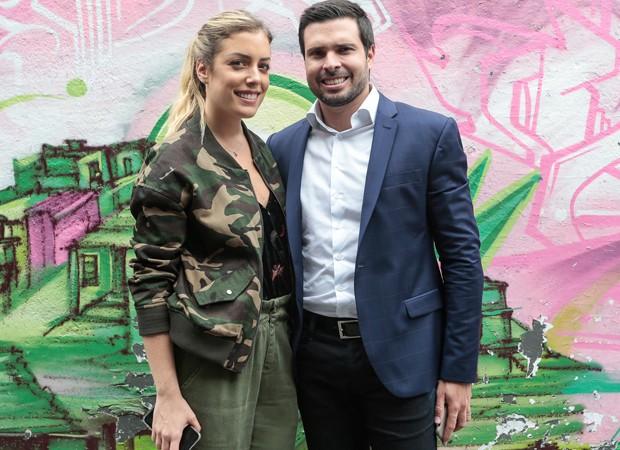 Fabiana Justus e o marido, Bruno D'Ancona (Foto: Fotos: Rafael Cusato/Brazil News)