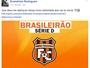 Em rede social, goleiro Evandrízio confirma acerto com o Serra Talhada