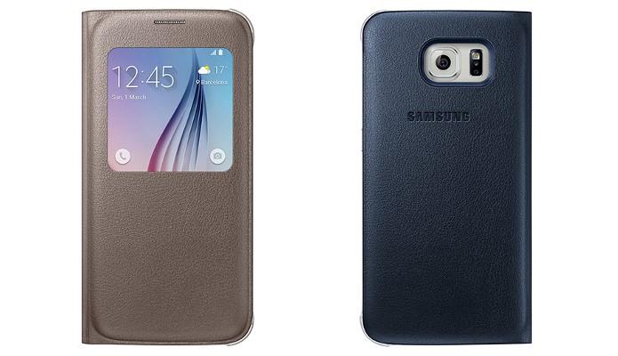 Flip Cover S View para Galaxy S6 (Foto: Divulgação/Samsung)