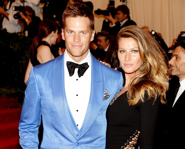 Tom Brady vem ao SPFW para o desfile da esposa-top Gisele Bündchen
