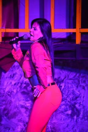 Gretchen faz show no Recife (Foto: Felipe Souto Maior / AgNews)