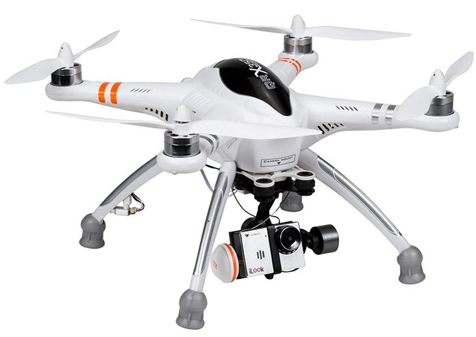 Drone da Walkera é compatível com câmeras de ação e apresenta bom conjunto de recursos (Foto: Divulgação/Walkera)