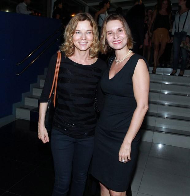 Vera Zimmerman e Paula Burlamaqui (Foto: Marcello Sá Barretto/AgNews)