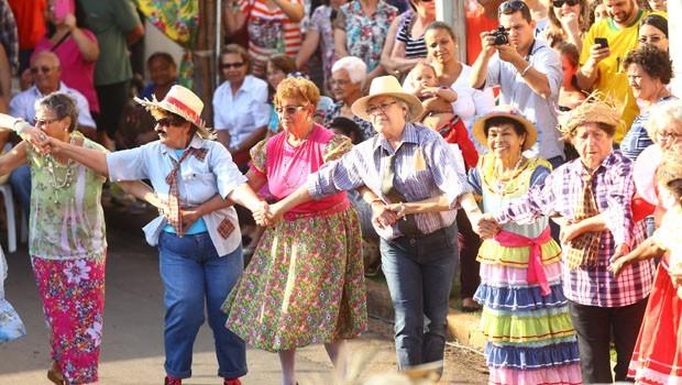 Venha se divertir com o arraiá da RPC e do Sesc Paraná (Foto:  Rubem Vital/ RPC)