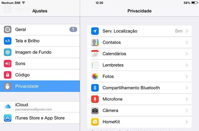 Controle o acesso do Spotify no iOS (Foto: Arte/Paulo Alves)