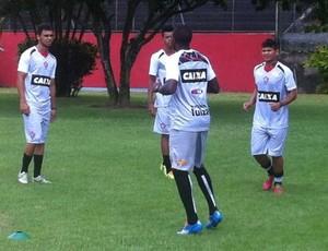 vitória treino (Foto: Thiego Souza/Divulgação/EC Vitória)