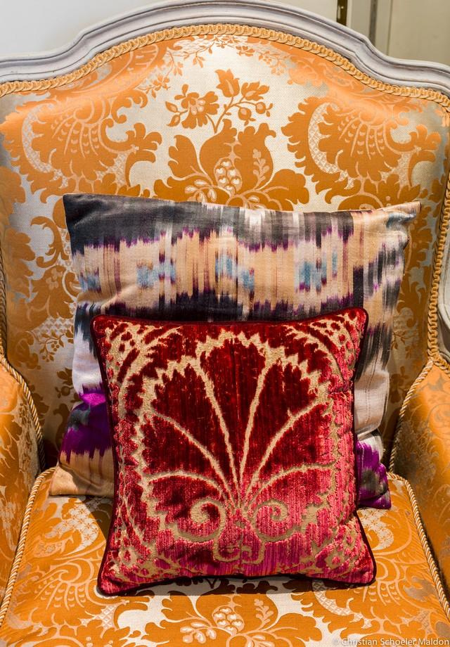 Aprenda a combinar almofadas  (Foto: Beto Riginik/Arquivo Vogue)