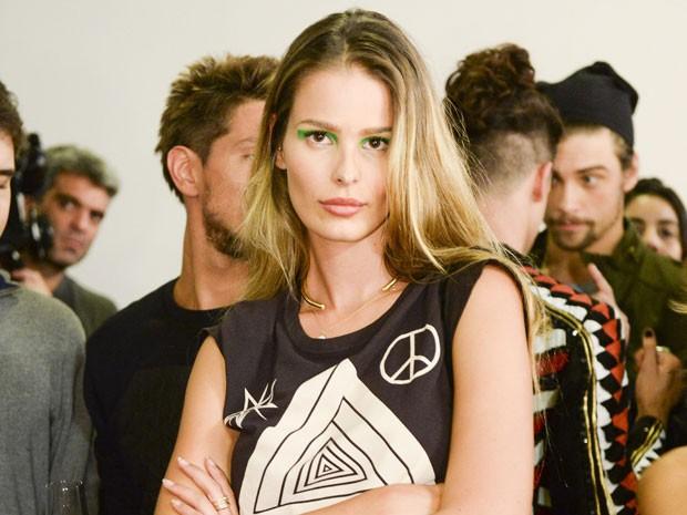 Yasmin Brunet será a modelo na ag~encia de Fanny Richards, personagem de Marieta Severo (Foto: Zé Paulo Cardeal/Tv Globo)