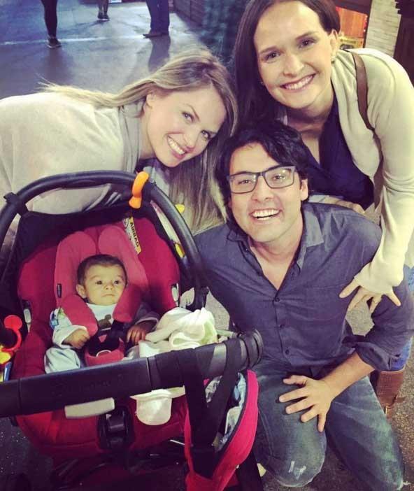 Fernanda, Suzana, Bruno e Bento (Foto: Reprodução - Instagram)
