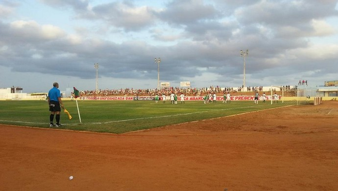 Estádio Iberezão - Santa Cruz-RN (Foto: Reprodução)