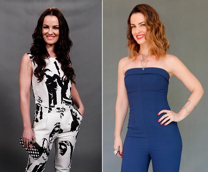 Carolina Kasting passou por uma repaginada radical! Confira antes e depois (Foto: Inácio Moraes/Fábio Rocha/Gshow)
