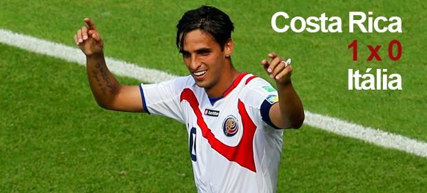 Costa Rica leva 1ª vaga no grupo da morte (Reuters)