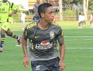 Felipe Amorim seleção brasileira sub-20 amistoso madureira (Foto: Gustavo Rotstein/Globoesporte.com)