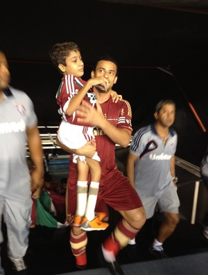 fred menino thiago silva flu x corinthians (Foto: Mariana Britto / Dept. de Marketing FluminenseFC)